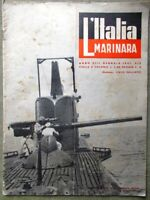 L'Italia Marinara Gennaio 1941 WW2 Perla Genova Pirati Corona Marina Mercantile