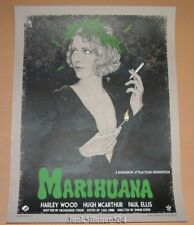 Marihuana Timothy Pittides Movie Poster Print Vices Art