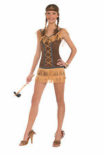Adult Sxey Indian Princess Native American Pocahontas Costume