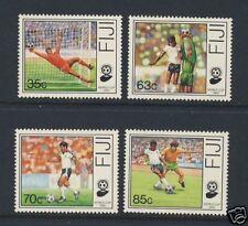 World Cup - Soccer - Fiji - Scott 611 - 614