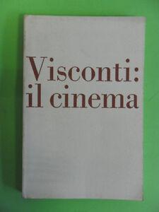 FERRERO. LUCHINO VISCONTI: IL CINEMA. CATALOGO CRITICO MODENA-REGGIO EMILIA 1977