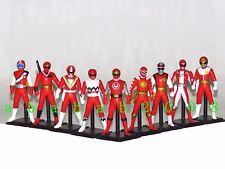 Bandai Super Sentai Ranger Red Chronicle Vol 2 Gashapon figure (full set 9 pcs)