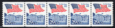 Sc# 2609 29 Cent Flag over White House (1992) Mnh Pnc/5 P# 7 Scv $4.00