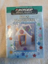 ROTOZIP EZ-CUT PROJECT, KID'S PLAYHOUSE, NEW RZ 101410