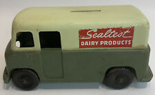 Vintage Plastic Sealtest Dairy Products Delivery Truck Bank