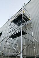 Used Scaffold Towers - Youngman BOSS Towers - Aluminium Scaffolding - INC VAT
