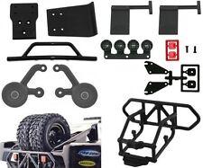 RPM Traxxas Slash 4X4 Complete Bumper Kit with Double Tire Carrier
