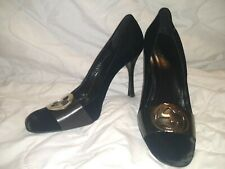 Gucci Black Velvet Pumps Heels