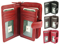 Visconti Large Multi Compartment RFID Safe Ladies Leather Purse Wallet - HT33