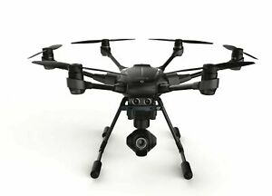 YUNEEC Typhoon H Hexacopter Drone with GCO3+ 4K Camera + Backpack + RealSense