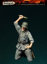 STALINGRAD GERMAN INFANTRYMAN IN ACTION 1939/43 #1 Scala 1/35 Cod.S-3062