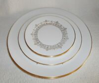 Oxford China by Lenox Petit Point 5 Plates Includes Dinner Salad Bread