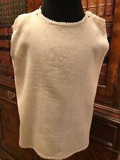Cream Wool Vintage Antique Baby Petticoat - Handmade