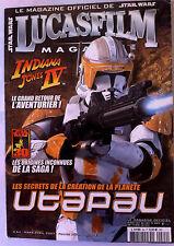 Star Wars Lucasfilm n°64; Indiana Jones IV/ Origines inconnues de la Saga
