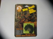 Nos Berry Best Calls Double Green- Medium Bull Elk Mouth Diaphragm Reed Call