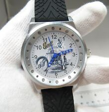 EVEL KNIEVEL,Retro,On Harley Davidson ,MEN'S CHARACTER WATCH,M-2,L@@K!