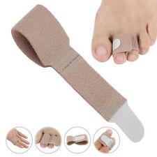 Toe Separator Splint Overlapping Finger Brace Bandage Straightener Hammer USA