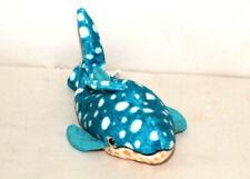Ty POSEIDON Retired Whale Plush Stuffed Animal Toy EUC 2001