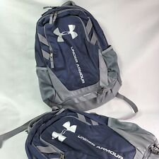 Under Armor Hustle Backpack 3.0 Midnight Navy/graphite/silver (List: $55) NEW