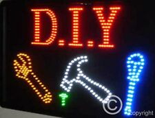 QUALITY FLASHING D I Y tools construction LED sign board new window shop signs