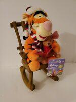 Disney - Tigger / Roo - Animated Talking - Rocking Chair Plush - Gemmy Rockin'