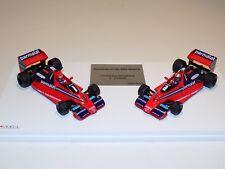 1/43 True Scale Models TSM Brabham BT46 Alfa Romeo 1978 Italian 1st 2nd Finish