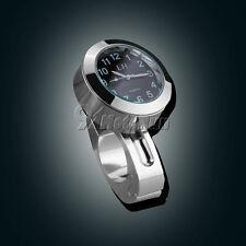 CNC Handlebar Bar Mount Clock For Honda Shadow Rebel 750 VTX 1300 C R S RETRO
