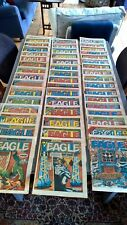 Eagle Comics (from 1984) - Complete set for the year bar 11th & 25th February