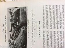 75-1 ephemera article osiris royal mortuary god of egypt