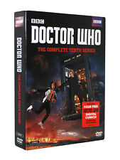 Doctor Who: The Complete Tenth Season 10 Series 10 (DVD, 2017, 5-Disc Set)
