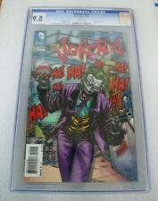BATMAN #23.1 !!!CGC 9.8!!! JOKER LENTICULAR VARIANT DC 2013