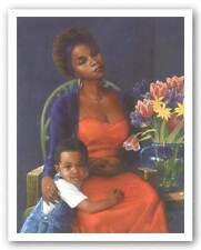 Mz Lela's Baby Limited Edition Gilbert Young African American Art Print 30x24