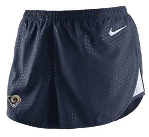 Nike NEW Womens Dri-Fit Los Angeles Rams Modern Tempo Shorts 656355 XL $40