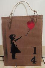 Pochoir Street Art Dismaland Banksy Heart Little Girl 27x35cm