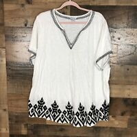 Lucky Brand Womens Top Size 3X