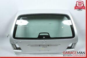 98-02 Mercedes W210 E320 Wagon Rear Trunk Tailgate Lift Gate Panel Assembly OEM