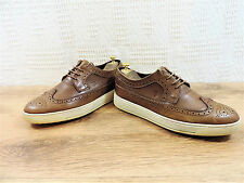 Tods Men's Brown Leather Brogues shoes Trainers Italian UK 8 US 9 EU 42