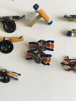 Dutch Ribbon Pins. Alfileres Pin De Solapa Holandeses Vintage Antiguos.