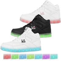 LA Gear Flo Lights Schuhe Kinder LED High Top Sneaker Turnschuhe L39-3650C