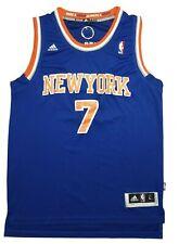 NBA - New York Knicks Jersey - No. 7 Carmelo Anthony  - Adidas Size L Blue NWOT