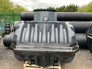 6 Person Graf Reinforced Plastic Septic Tank.£850+ vat 2700 Litres