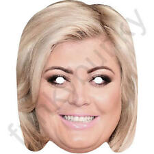 Gemma Collins Celebrity Card Face Mask Fancy Dress All Our Masks Are Pre-Cut!