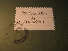 timbres - carnet prestige - portraits de régions - Claude Perchat