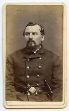 Nice Civil War Era Charlestown, Massachusetts Policeman CDV (Carte de Visite)
