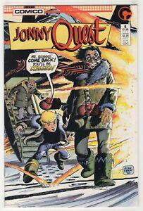 Jonny Quest #6 (Nov 1986, Comico) [Based on Cartoon] William Loebs, Adam Kubert