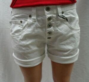 Please Damen Shorts P 88A weiß/ bianco ottico Gr. S,M   ANGEBOT!!!