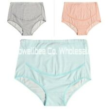 Women's Maternity Prenancy Over The Bump Plus Size Underwear 3-Pack 1X