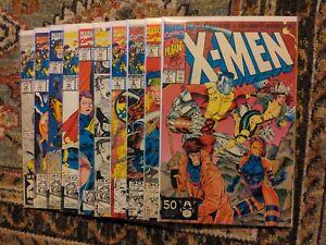 X-Men Vol 2 1991 Lot of 10 Marvel Comics #1B 4 5 9 10 11 15 16 17 18 Blue Team