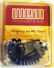 WEIN Miniplug to PC Cord coiled lead