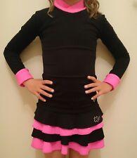 Eiskunstlauf Trainingsset , 2 Teiler Sport, Warm Gr 122-128 Mädchen, Kürkleid